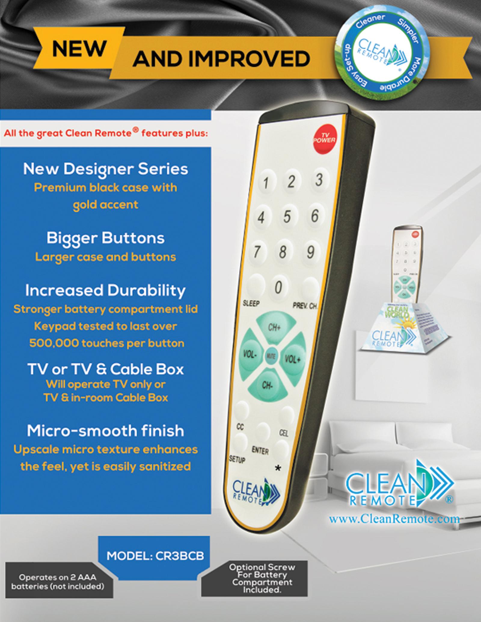 Free Room Hospital Safe Tv Remote Control Reduce Nosocomial