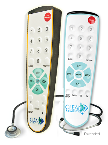 Healthcare Giver Germ Free TV Remote Control Universal